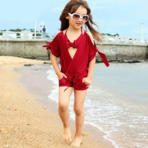 New-Arrival-2016-Hot-Sale-Little-Girls-font-b-Bikinis-b-font-Sets-Swimwear-Summer-Korean